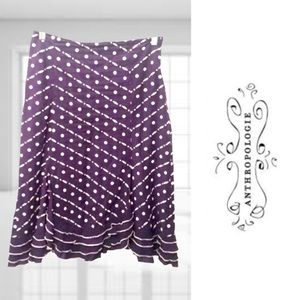 Odille Cotton & Silk Party Skirt